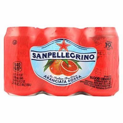 San Pellegrino Sparkling Water - Aranciata Rossa - Case of 4 - 11.1 Fl oz.