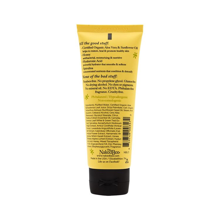 The Naked Bee Citron & Honey Body Lotion