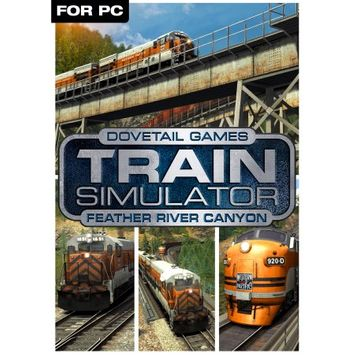 Dovetail Games Train Simulator Add-On - Feather River Canyon DLC (PC)(Digital Download)