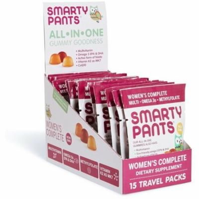3 Pack - SmartyPants Women's Complete Gummy Vitamins (15 Day Supply) 15 ea