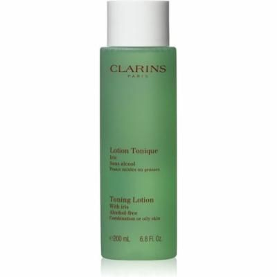 4 Pack - Clarins Toning Lotion with Iris 6.80 oz