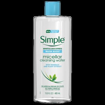 Simple® Water Boost Micellar Cleansing Water