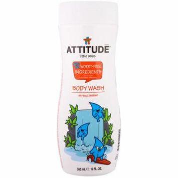 ATTITUDE, Little Ones, Body Wash, 12 fl oz (pack of 4)