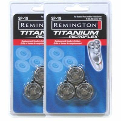 Remington SP-19 (2 Pack) 2 Titanium MicroFlex Replacement Heads & Cutters