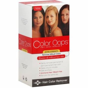 Color Oops Hair Color Remover, Extra Strength 1 ea