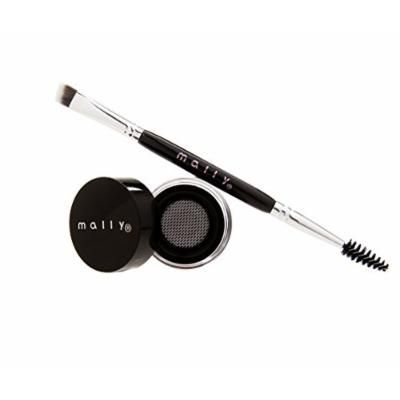 Mally Beauty Evercolor Brow Defining Gel with Double Ended Brush - Taupe