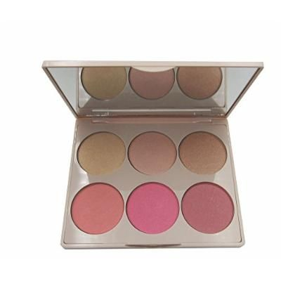 Doll 10 Glow All Out Blush & Highlighter Palette