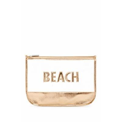 Rose Gold Beach Bathing Suit Swimsuit Travel Suntan Lotion Bag
