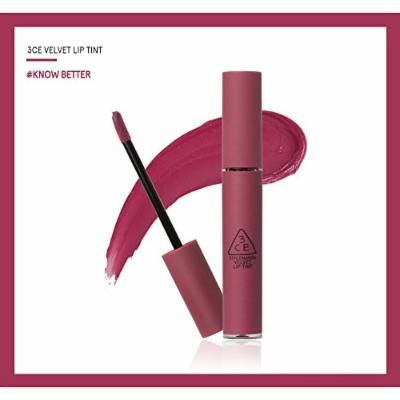 3CE Velvet Lip Tint (4g/ea) New Colors / Mlbb / Mlbb Lips / Stylenanda (Know Better)