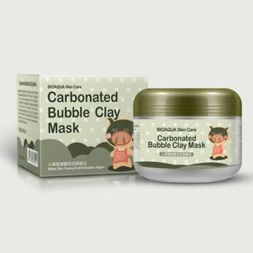 Moisturizing Oxygen Bubbles Carbonate Mud Deep Pore Cleansing Clay Facial Mask