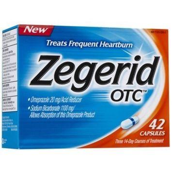 Zegerid OTC Acid Reducer Capsules-42ct (Quantity of 2)