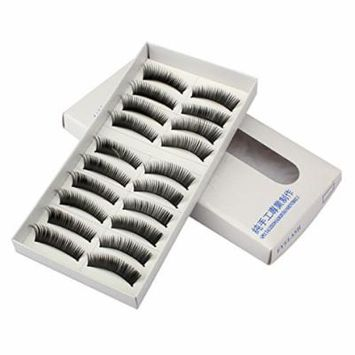 Model Looks Synthetic Eye Lashes False Eyelashes Volume -10 Pack