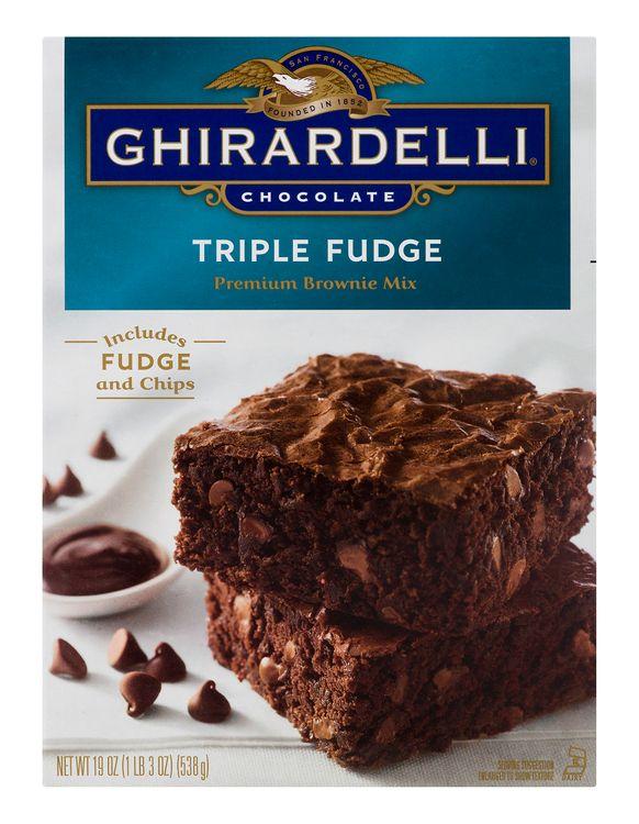 Ghirardelli Premium Brownie Mix Triple Fudge