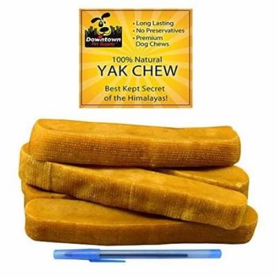 Himalayan Yak Dog Chew 100% Natural Dog Chews for Small Medium and Large Dogs: Mixed Packs Variety of sizes by Downtown Pet Supply 2 lb