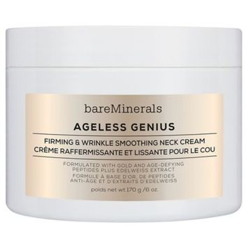 bareMinerals Ageless Genius Firming & Wrinkle Smoothing Neck Cream 6.0 oz