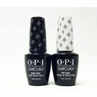 OPI Gel Color Base Coat + Top Coat .5oz/15mL * 2 Bottles*