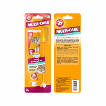 Arm & Hammer™ Multi-Care Dental Care Kit for Cats