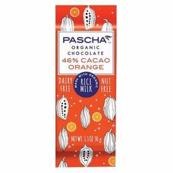 Pascha Organic Chocolate Bar - Orange Rice Milk - Case Of 15 - 1.1 Oz