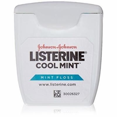 LISTERINE Cool Mint Floss, Pocket Size (5 yd) (5 Pack)