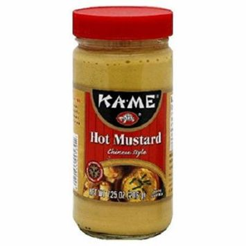Ka'Me Hot Mustard - Case of 12 - 7.25 oz.