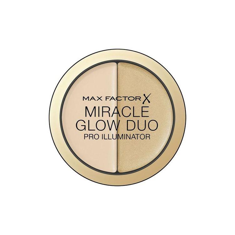 Max Factor Miracle Glow Duo Pro Illuminator-creamy Highlighter -10 Light 11g