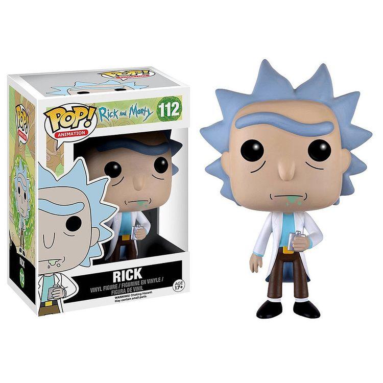 Funko Pop! Animation: Rick and Morty - Rick Vinyl Figure