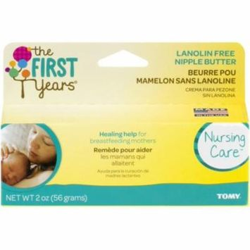 2 Pack - The First Years Lanolin-Free Nipple Butter 2 oz
