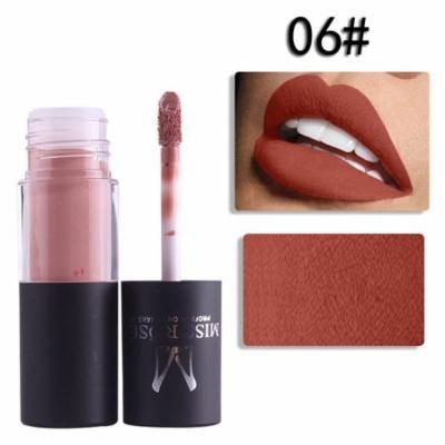 MISS ROSE Lipgloss Bold & Vivid Color Matte Lipgloss Set # 06