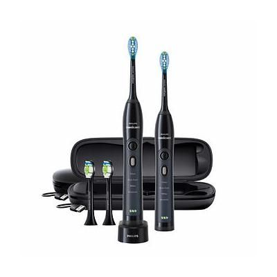 Philips Sonicare Flexcare Whitening Edition Toothbrush with Charging Travel Case - Black