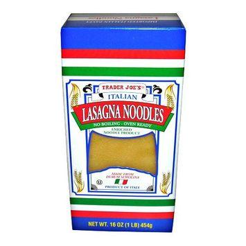 Trader Joe's No Boil Italian Lasagna Noodles (Pack of 2)