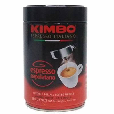 Kimbo Espresso Italiano Espresso Napoletano Ground Coffee, 8.8 oz (Pack of 6)