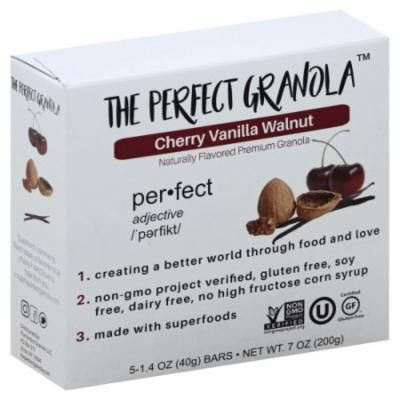 The Perfect Granola - Cherry Vanilla Walnut Granola Bars