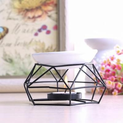 Womail Stainless Steel Oil Burner Candle Aromatherapy Oil Lamp Home Decorations Aroma