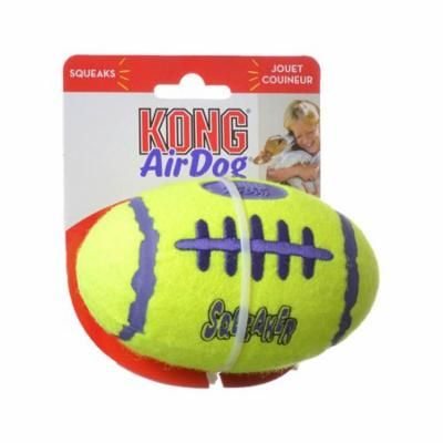 "Kong Air Kong Squeakers Football Medium - 5"" Long (For Dogs 20-45 lbs) - Pack of 2"