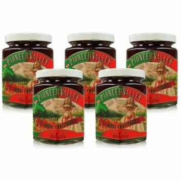 Pioneer Valley Gourmet Berry Christmas Jam 8 oz. - 5 pack