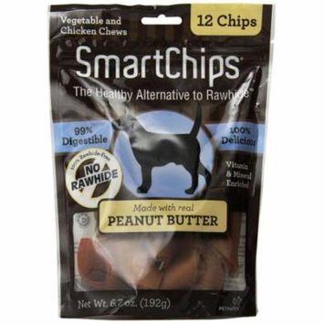 SmartBones SmartChips - Peanut Flavored Dog Chews 3