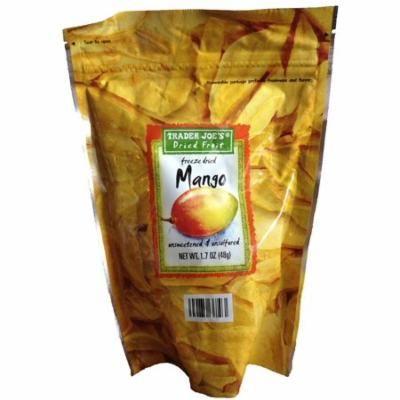Trader Joe's Freeze Dried Mango Unsweetened & Unsulfured 1.7oz
