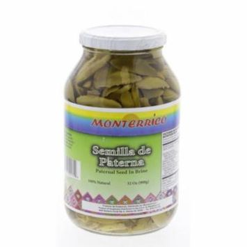 Monterrico Paterna Seeds in Brine 3lbs - Semilla de Paterna (Pack of 3)