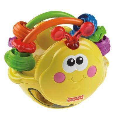 Fisher-Price Go Baby Go! Gigglin' Bee Ball