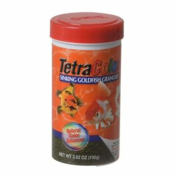 TetraColor Sinking Goldfish Granules 3.52 oz - Pack of 4