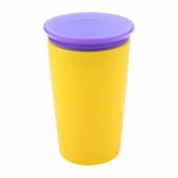 TMISHION 5 Colors 300mL Baby Infant No Spill Drinking Cup Trainer 360 Degree Drink Bottle,Drink Cup, Baby Drink Cup