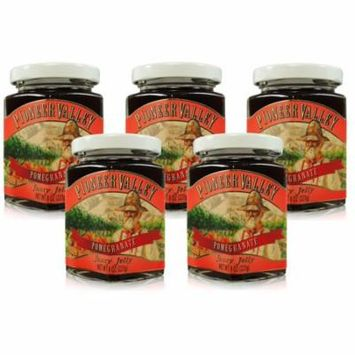 Pioneer Valley Gourmet Pomegranate Jelly 8 oz. - 5 pack
