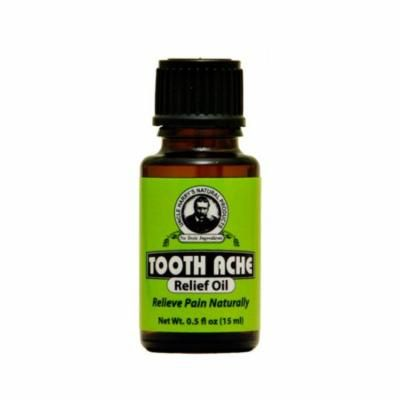 Tooth Ache Relief Oil by Uncle Harry's Natural Products (0.5oz Oil)