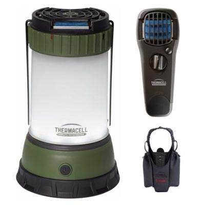 Thermacell Scout Mosquito Repeller/Lantern with Portable Repeller and Holster