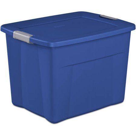 Sterilite 22 Gallon Latch Tote- Multiple Colors (Available in Case of 6 or Single Unit)