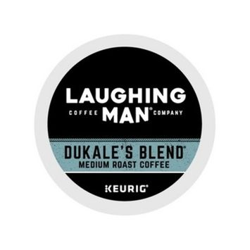 Laughing Man Coffee Dukale's Blend Keurig K-Cup Pods - 16ct/6.1oz