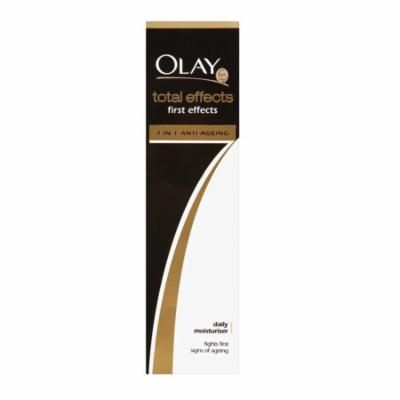 Olay Total Effects 7X First Effects Daily Moisturizer, Fights First Signs of Aging, 50 ml (1.7 Oz) + Beyond BodiHeat Patch, 1 Ct