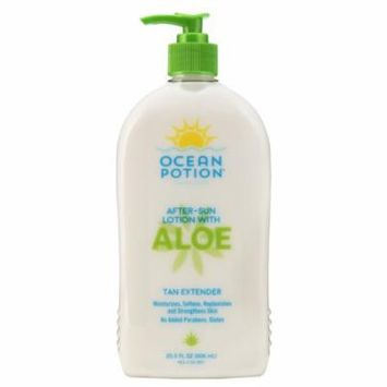Ocean Potion After Sun Lotion With Aloe, 20.5 oz