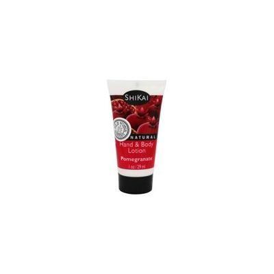 Hand & Body Lotion Pomegranate - 1 fl. oz. by Shikai (pack of 1)