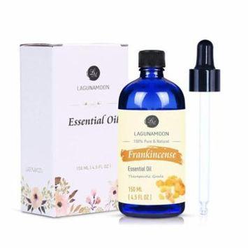 Lagunamoon Frankincense Essential Oil,Pure Aromatherapy Oils Therapeutic Grade,4.5 fl Oz